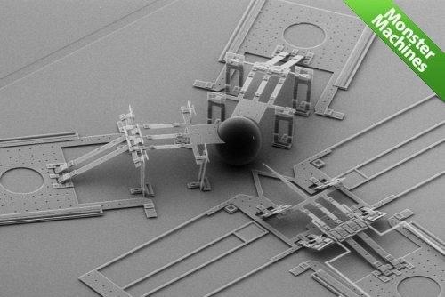 MEMS наноинъектор - самый маленький в мире медицинский шприц для проведения генетических модификаций