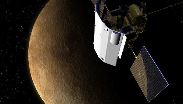 Зонд MESSENGER указал на неожиданно древнее магнитное поле Меркурия
