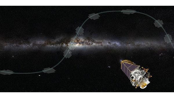 """НАСА: Телескоп """"Кеплер"""" снял танец Нептуна и его спутников"""