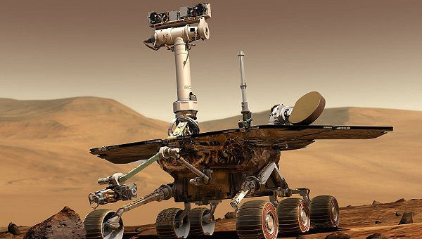 НАСА назвало кратер на Марсе в честь первого перелета через Атлантику