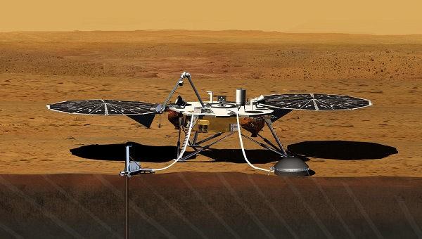 НАСА начало проверку марсианского спускаемого модуля InSight