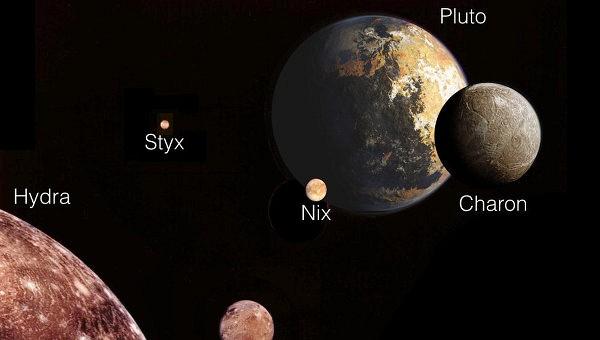 Луны Плутона оказались непослушными подростками, заявляют ученые