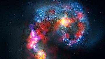 """""""Линза Эйнштейна"""" помогла заглянуть в звездные ясли в юной Вселенной"""