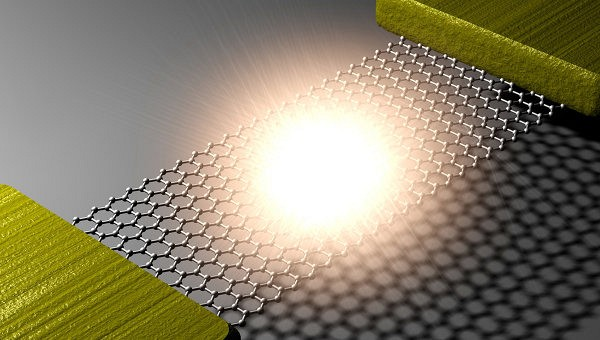 Физики впервые создали графеновую «лампочку» толщиной в атом