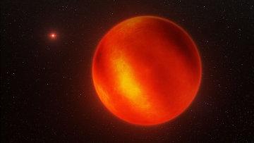 Ученые нашли коричневый карлик с красными небесами в созвездии Водолея