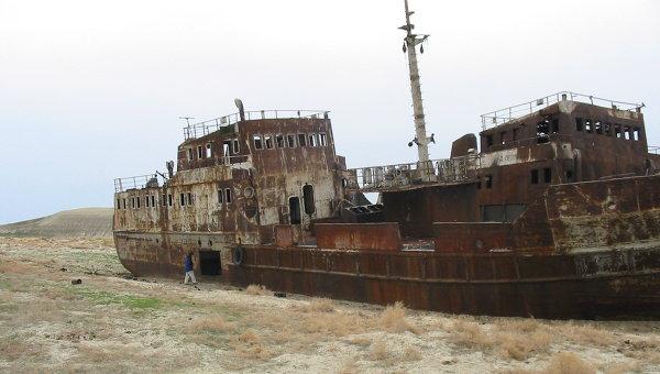 Аральское море стало терять меньше воды, выяснили ученые