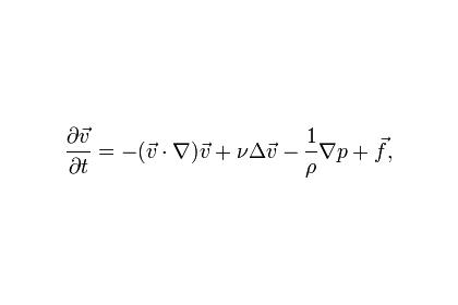 Современная математика оказалась бессильна перед задачей Навье-Стокса