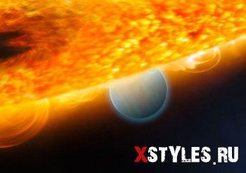 "Астрономы обнаружили ""падающую планету"""