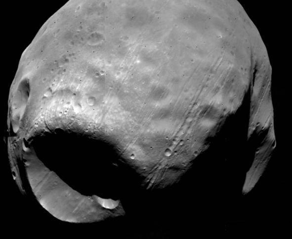 Фобос является «родственником» астероидам, а не Марсу
