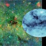 Телескоп Spitzer обнаружил самое плотное и самое темное космическое облако из всех известных людям