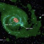 Астрономы нашли галактику «киллера» в созвездии Часов