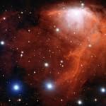 Телескоп VLT получил фото пузырьков космического «шампанского»