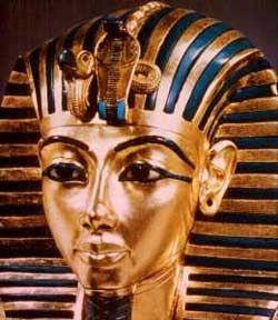 Cаркофаг из желтого кварцита Тутанхамона