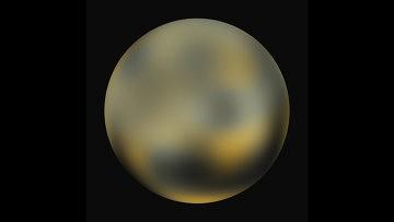 """НАСА: зонд New Horizons """"рассмотрел"""" полярную шапку на Плутоне"""