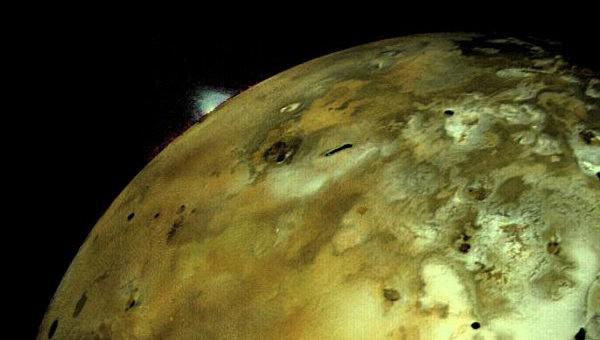 Астрономы сфотографировали озеро из лавы на Ио, спутнике Юпитера