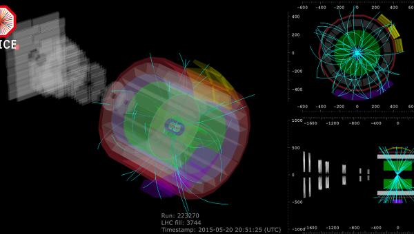ЦЕРН: БАК провел первые столкновения частиц на рекордной мощности