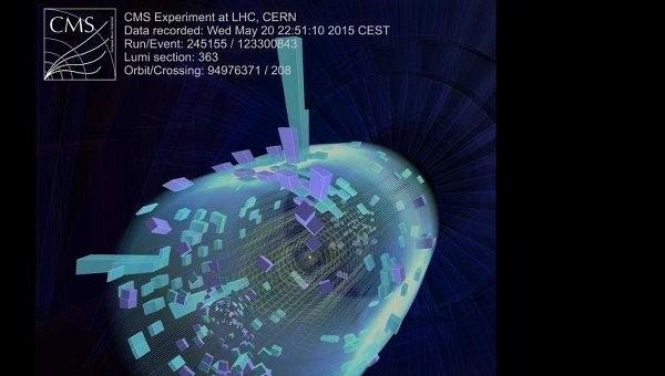 Обновленный БАК успешно провел первые «научные» столкновения частиц