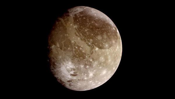 Ученые впервые составили геологическую карту спутника Юпитера Ганимеда