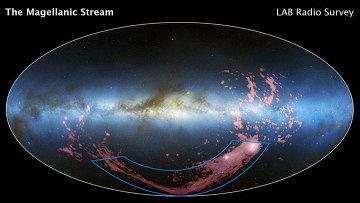 """""""Хаббл"""" помог астрономам впервые увидеть вращение соседней галактики"""