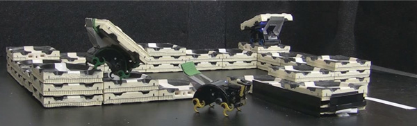 Как роботы прикинулись термитами и построили дом